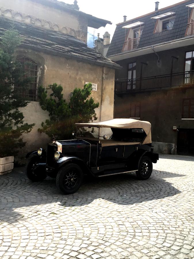 auto d'epoca Exilles