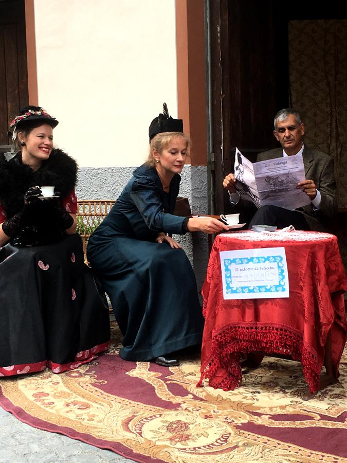 salotto aristocratico Exilles