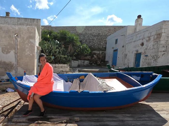 polignano-gita in barca