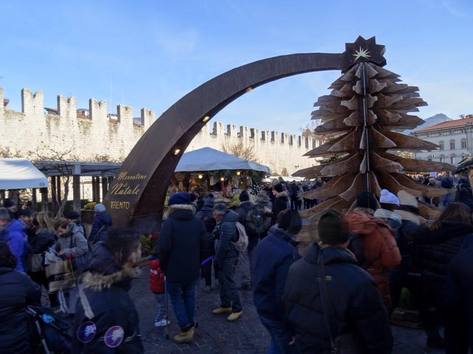 Ingresso mercatini Trento