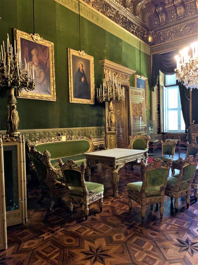 Palazzo Reale Torino: salotto