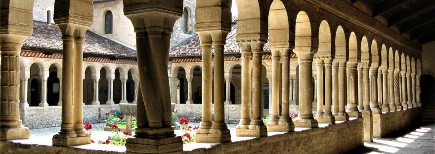 chiostro abbazia Follina